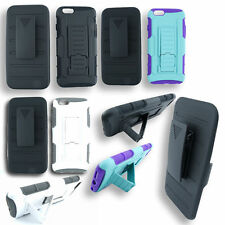 """Shell Holster Belt Clip Combo Case Cover For Apple 4.7"""" iPhone 6 w/ Kickstand"""