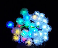 Solar 20LED Waxberry String Fairy Lamp Christmas Party Outdoor Garden Light New