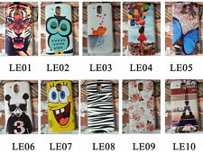 For HTC Desire 526 526G Cartoon Tiger Girl Rose Fish Cat Owl Hard Case Cover