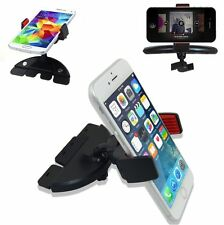 Universal CD Slot 360° Rotating Car Dash Suction Mount Holder GPS For Cell Phone
