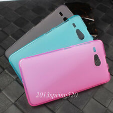 For Acer Liquid Z520 Slim Soft TPU Pudding Gel Silicone Matte Skin Cover Case