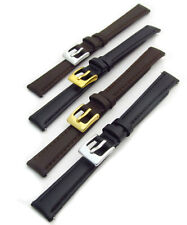 Ladies Soft Genuine Leather XL Extra Long Watch Strap Band Choice of colours