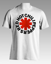 NEW Licensed Red Hot Chili Peppers Asterisk White T-Shirt S M L XL Free Postage