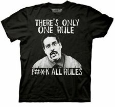 Adult Men's Workaholics Comedy TV Show There's Only One Rule Black T-Shirt Tee