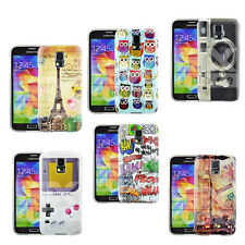 HARD CASE COVER PATTERN FOR VARIOUS PHONES + SCREEN PROTECTOR
