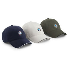 BMW Genuine Mens' Recycled Brushed Twill Cap     80160439605 - 606 - 607