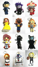 Voodoo String Doll Charter Movie Keychain Ornament Accessory Gift # Set 8