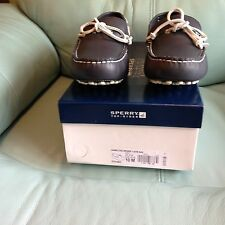 NIB Men's Sperry Top-Sider Hamilton Driver 1-Eye Navy Blue Boat Shoes STS10623