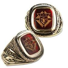 Men's Knights of Columbus Gold Plated Ring