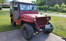 Clean WWII 1944  Ford GPW  Military Army Jeep