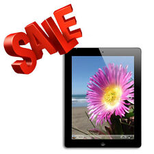 Apple iPad 4 Black Retina Display Wifi Tablet - 16GB,32GB,64GB or 128GB