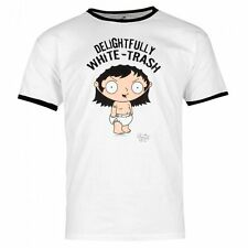 Family Guy Stewie White Trash New Officially Licensed Various Sizes T-Shirt