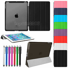 Magnetic Slim Leather Smart Stand Back Cover Case For Apple iPad Air 2 3 4 Mini