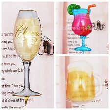 Foil Balloon Champagne Juice Beer Glass Wedding Birthday Party Festive Decorat