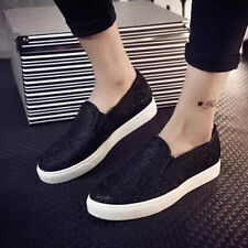 Womens Casual Canvas Espadrilles Shoes Slip On Loafers Walking Sneakers Shoes