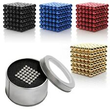 216x3mm Magic Cube Puzzle Magnetic Magnet Balls Spacer Beads Baby Kids Child Toy