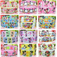 "2 Yards DISNEY MICKEY MINNIE MOUSE 22mm 7/8"" Grosgrain Ribbon Craft Bow MM"