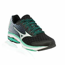 Mizuno - Wave Rider 18 Running Shoe - Black/Silver/Florida Keys