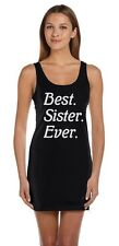 Best Sister Ever! Siblings Gift Idea Best Sisters Tunic Dress Greatest sis ever