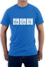 Bacon Chemistry Funny Periodic Table T-Shirt