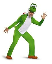 Super Mario Brothers Deluxe Yoshi Adult Mens Costume