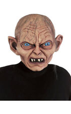 LICENSED GOLLUM MASK LORD OF THE RINGS ADULT MASK FANCY DRESS HALLOWEEN