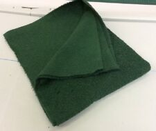 BOTTLE GREEN Cotton  Towelling Fabric Thick and Strong - Metre or Half Met