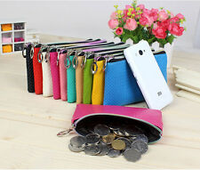 Women's Fashion Synthetic Leather Wallet Purse Zipper Handbag Bag Coin bag New