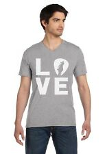 In Love With My Guitar - Guitarist Perfect Gift Idea V-Neck T-Shirt Cool