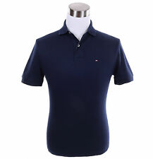 Tommy Hilfiger Men Short Sleeve Classic Fit Rugby Solid Polo Shirt -$0 Free Ship