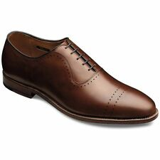 Allen Edmonds Mens Vernon 3E Cap Toe Perforated Business Casual Dress Shoes
