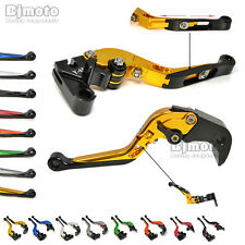 CNC Foldable Extendable Brake Clutch Levers for Yamaha YZF R6 99-15 R1 02-14 R6S