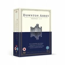 Downton Abbey Series 1 - 4 DVD Boxset Complete New Downtown Dontown Donton 2 3