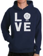 Love Sheep Statement - Animal Lovers Novelty Gift Idea Hoodie Cute & Funny