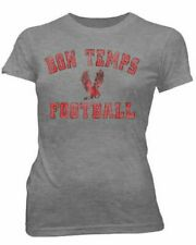 Juniors True Blood TV Show Series Bon Temps Football Heather Gray T-shirt Tee