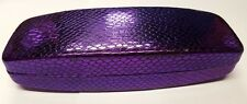 NEW Designer Spectacle glasses case box Hard Velvet Lined Storage Protction box