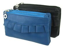 Vanity bag blue or black small handbag Clutch make up bag make-up bag