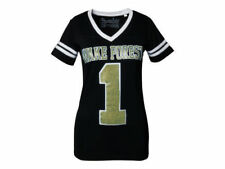 Wake Forest Demon Deacons NCAA Press Box V-Neck Jersey Tee New With Tags