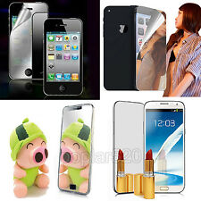 Front Film Mirror LCD Screen Protector Skin Guard for iPhone 5 5s 4 4S 6 6Plus