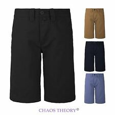 Mens New Short Chino Pants Cotton Summer Fashion Style Cropped Trousers 28-38
