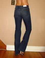 $178 Seven 7 For All Mankind Original Classic Bootcut Jeans Dark-Medium 24 NWT