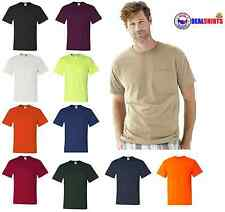 JERZEES Heavyweight Blend50/50 T-Shirt with a Pocket Mens Tee S-3XL 29MPR-29P