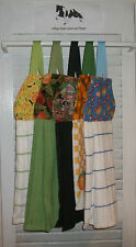 Fruit Citrus Apple Orange Lime Peach Hanging Kitchen Dishtowel  HCF&D