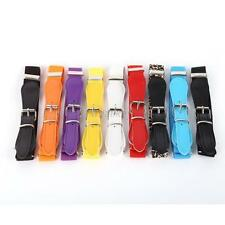 Candy Color Children's Kid's Decoration Elastic Band Belt With Buckle Waistband