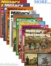 MILITARY MODELLING magazine 1973-78 ( BUY 2 GET 3rd FREE! ) Free UK Postage.