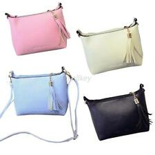 Womens Small Shoulder Totes Handbag Womens Cross Body Bag Leather Hobo Purse T86