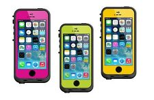 New Authentic LifeProof Fre Waterproof, Shockproof Cases for iPhone 5/5S