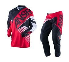 Answer NEW 2016 Youth Mx Syncron Red Black BMX Motocross Dirt Bike Kids Gear Set