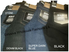 The New Solo Semore Classic Jeans  fit  Jeans  on All sizes. 4 colors