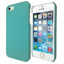 New Thin Hard Slim 1-Piece Case Rubber Cover For Apple iPhone 5S 5 4S